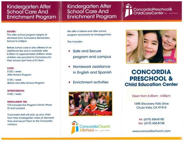 2014-2015NewBrochureAfterSchoolProgram