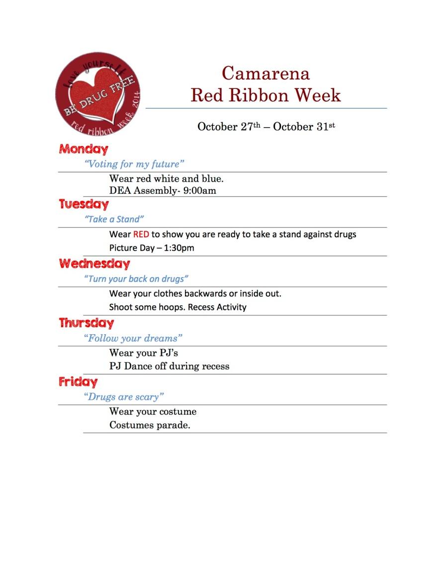 2014 Camarena RED RIBBON Week