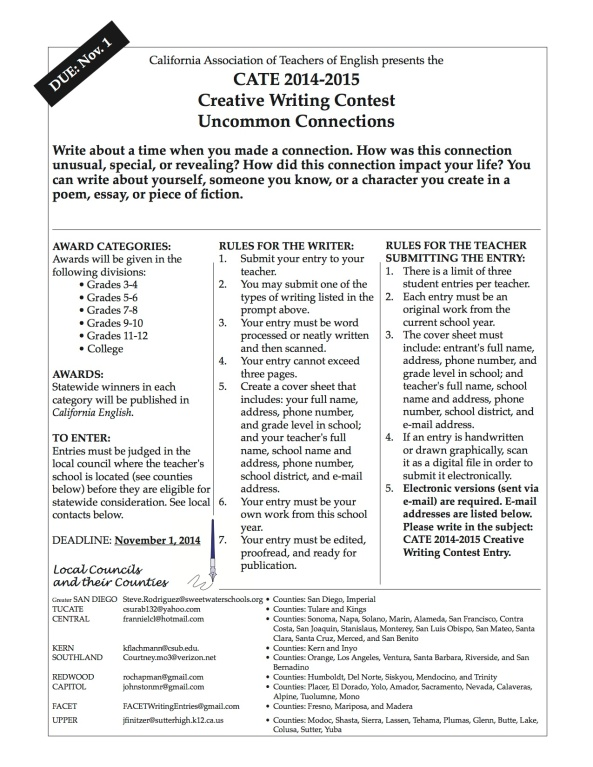 WritingContestCATE2014