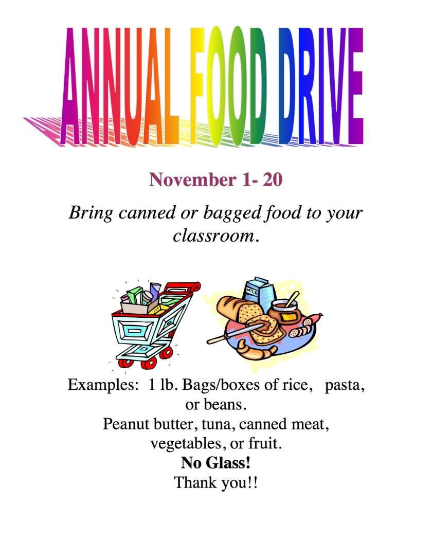 Microsoft Word - Food Drive Flyer