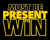 Must Be Present to Win Logo