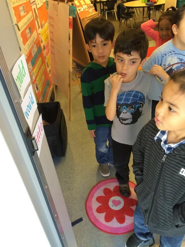 Kindergarten recess