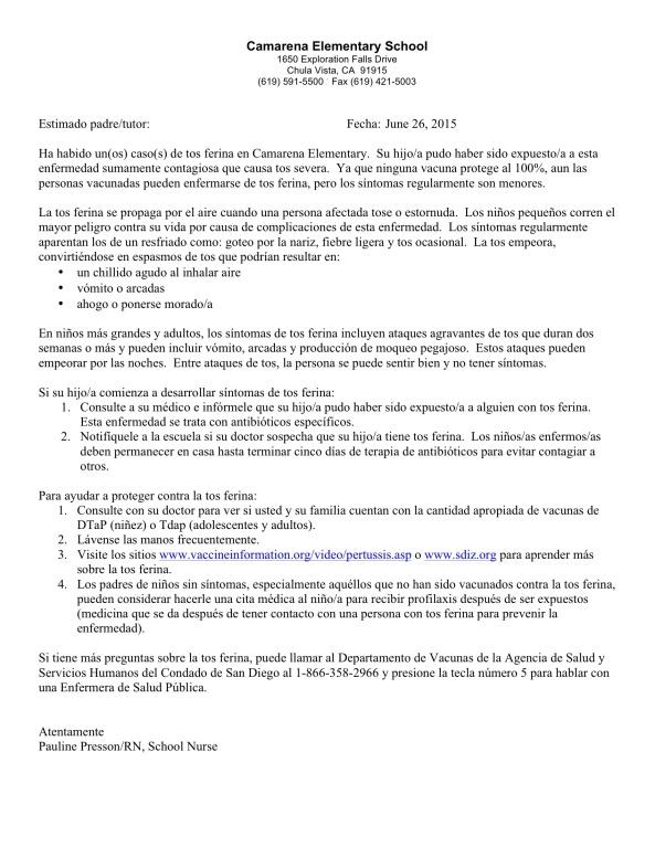 Camarena Pertussis Letter Spanish 6 26 2015-1