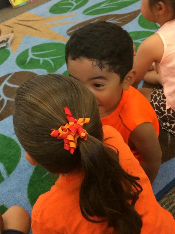 Intense Conversation in Kindergarten