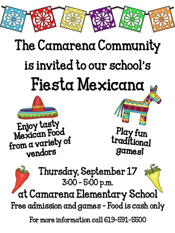 Fiesta Mexicana Flyer